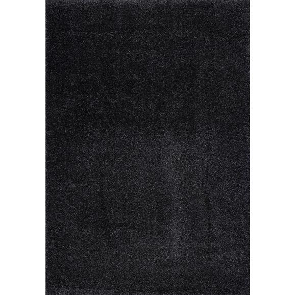 Hochflorteppich Galaxy ca. 160x230cm - Dunkelgrau, MODERN, Textil (160/230cm)