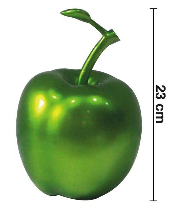 Dekoapfel Juice - Grün, LIFESTYLE, Kunststoff (14-15/23cm) - Mömax modern living