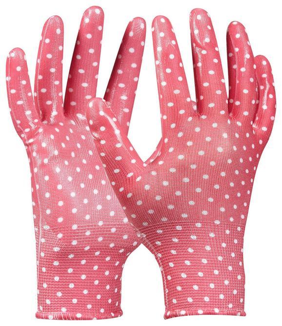 Gartenhandschuhe Tommi Orange in Pink - Pink, Textil