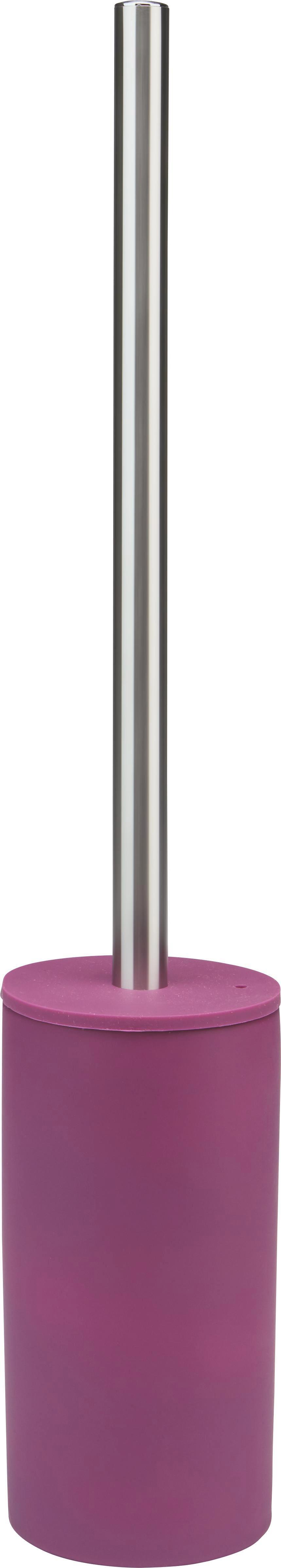Wc-kefe Melanie - lila, konvencionális, műanyag/fém (8/45cm) - MÖMAX modern living