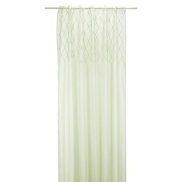 Zavesa Z Zankami Beauty - svetlo zelena, tekstil (135/245cm) - Mömax modern living