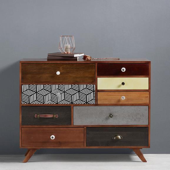 Sideboard Heather - Multicolor, MODERN, Holz/Keramik (104/80/38cm) - Mömax modern living