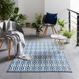 Covor Pentru Exterior Florida - albastru deschis, Basics, textil (120/170cm) - Modern Living