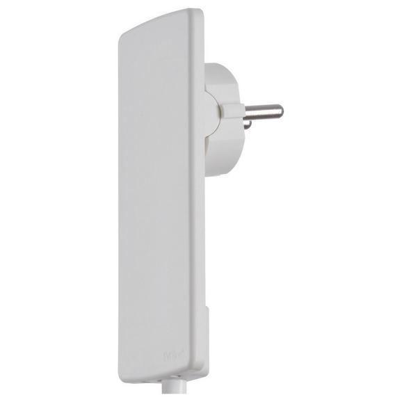 Adapterstecker Evoline Plug Weiß - Weiß, Basics