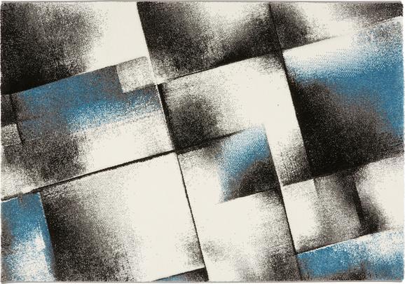 Webteppich Mirano, ca. 160x230cm - Blau, Textil (160/230cm) - MÖMAX modern living
