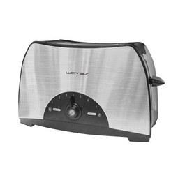 Kenyérpirító 230v~ 50hz/800w - fekete/ezüst színű, műanyag/fém (28/17/17,5cm)