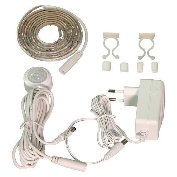 LED-Dekoleuchte Hein, max. 4,5 Watt - Weiß, Kunststoff (150cm) - Mömax modern living
