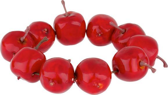 Kranz in Rot - Rot, Kunststoff (11cm)