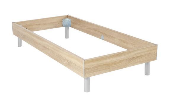 Futonska Postelja Belia - aluminij, kovina/les (120/200cm) - Mömax modern living