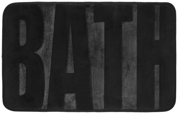 Badematte Bath in Grau, ca. 50x80cm - Anthrazit, MODERN, Textil (50/80cm) - Mömax modern living