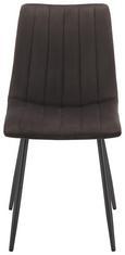 Stuhl Grau/Schwarz - Anthrazit/Grau, LIFESTYLE, Textil/Metall (44,5/88,5/54cm) - Modern Living