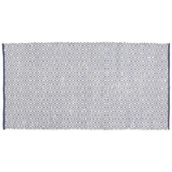 Ročno Tkana Preproga Carmen 1 - temno modra, tekstil (60/120cm) - Mömax modern living