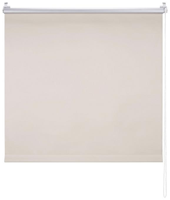 Klemmrollo Thermo In Sand, ca. 45x150cm - Sandfarben, Textil (45/150cm) - Premium Living