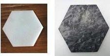 Podstavek Marble - črna/bela, Moderno, kamen (10/1cm) - Zandiara