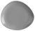 Dessertteller Nele aus Steinzeug in Grau - Grau, MODERN, Keramik (21 19 2,3cm) - Premium Living