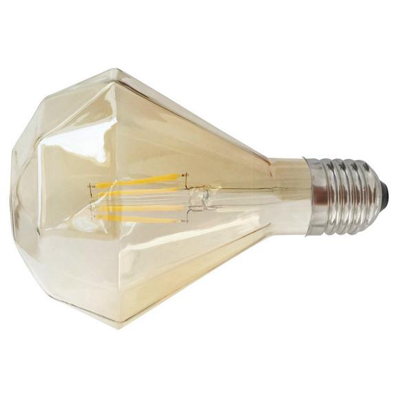 Deko-Leuchtmittel C80325MM max. 6 Watt - Goldfarben, Glas (9,5/13,6cm) - Mömax modern living