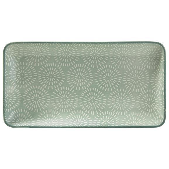 Platte Nina Aus Porzellan - meta zelena, keramika (12/22cm) - Mömax modern living