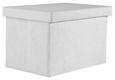 Škatla Za Shranjevanje Cindy - bela, Moderno, tekstil (38/26/24cm) - Mömax modern living
