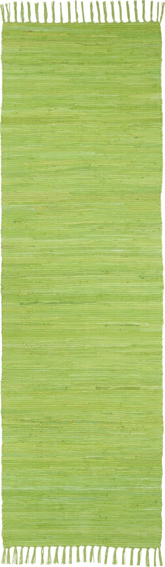 Rongyszőnyeg Julia - világoszöld, konvencionális, textil (70/230cm) - MÖMAX modern living