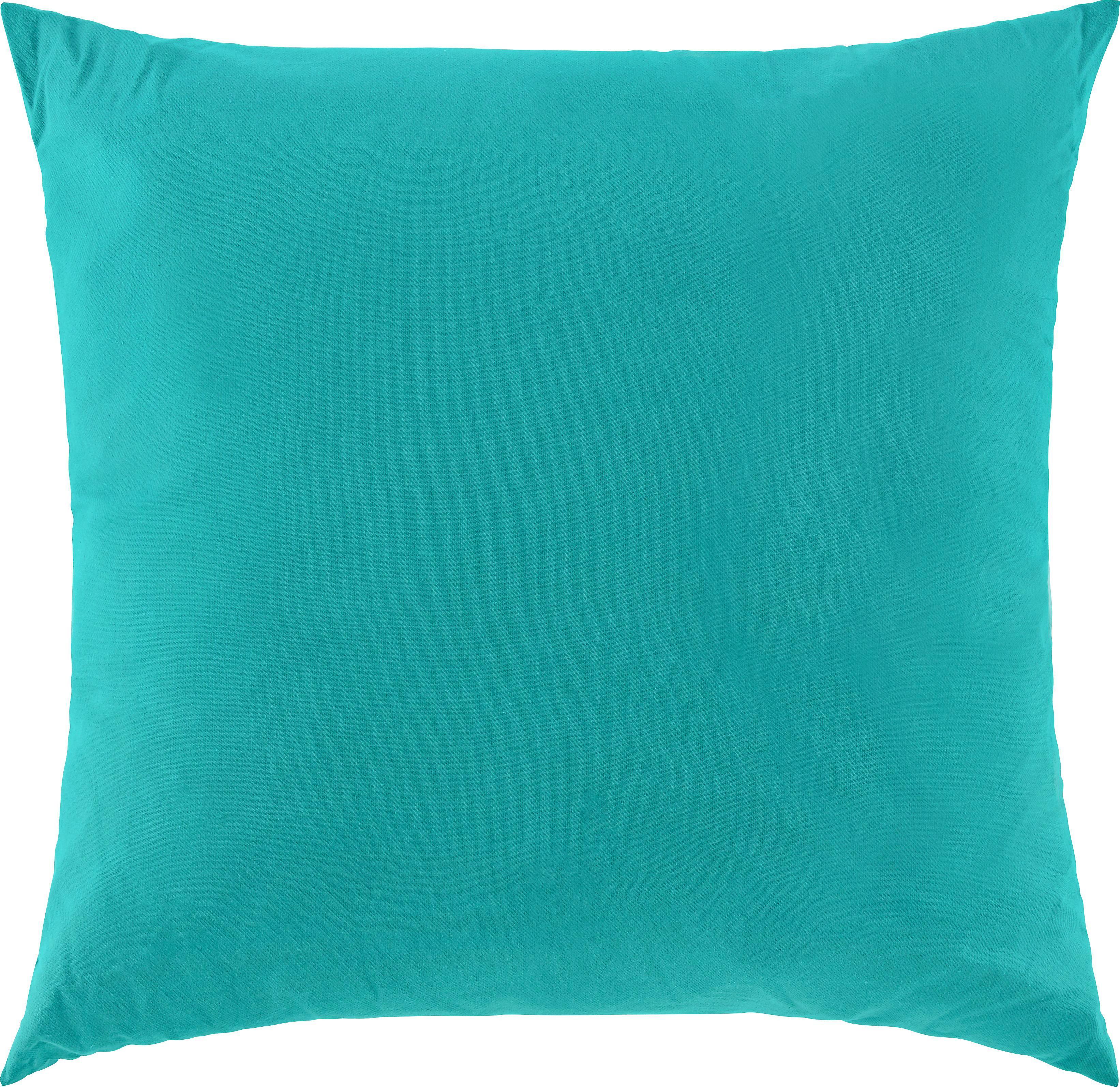 Díszpárna Zippmex -based- - sötétzöld, textil (50/50cm) - BASED