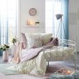 Schlaufenvorhang Elsa Jade ca. 140x245cm - Jadegrün, ROMANTIK / LANDHAUS, Textil (140/245cm) - Mömax modern living