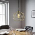 Pendelleuchte Yanis - Bronzefarben, MODERN, Kunststoff/Metall (30/135cm) - Mömax modern living