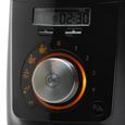 Philips Standmixer mit Kochfunktion - Schwarz, MODERN, Kunststoff/Metall - Philips