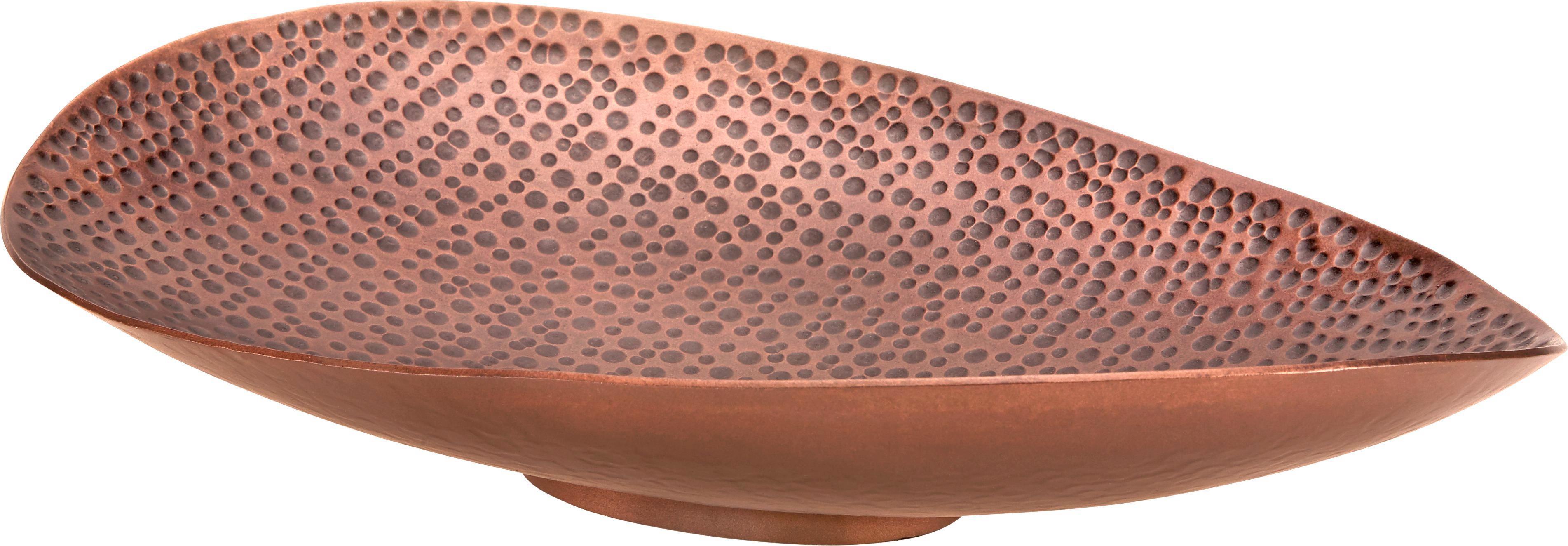 Dekoschale Masai in Kupferfarben - Kupferfarben, LIFESTYLE, Metall (37/26/8cm) - MÖMAX modern living