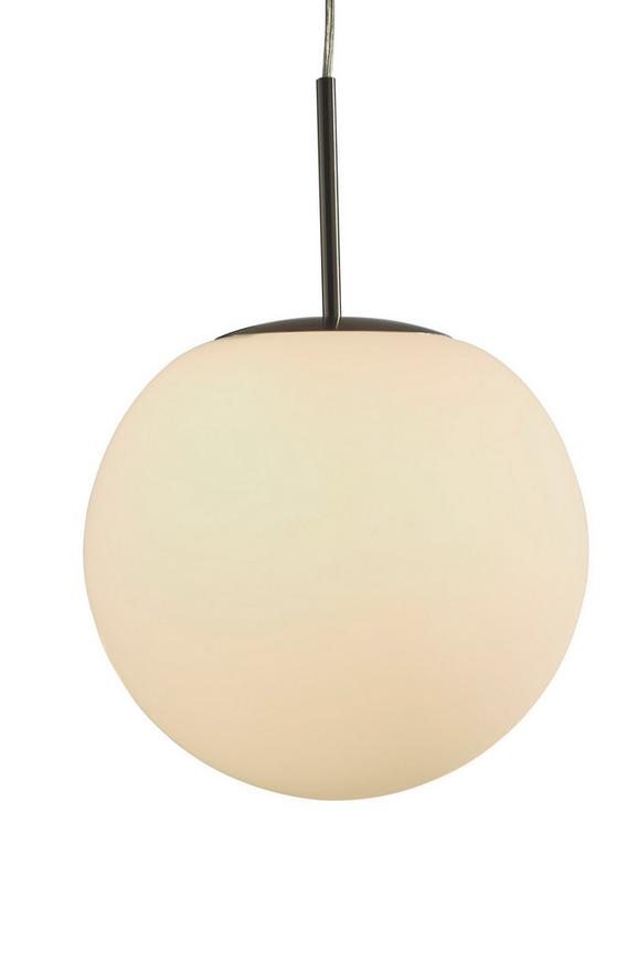 Hängeleuchte Balla, max. 60 Watt - Opal, KONVENTIONELL, Glas/Metall (30/32cm) - MÖMAX modern living