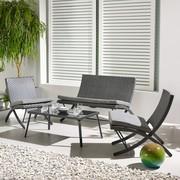 Auflagen   Grau, MODERN, Glas/Kunststoff   Modern Living