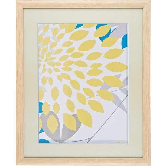Bilderrahmen Anna, ca. 40x50cm aus Holz - Naturfarben, ROMANTIK / LANDHAUS, Glas/Holz (40/50/3,6cm) - Mömax modern living