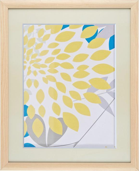Képkeret Natúr Fenyő/mdf - natúr színek, romantikus/Landhaus, üveg/fa (40/50cm) - Mömax modern living