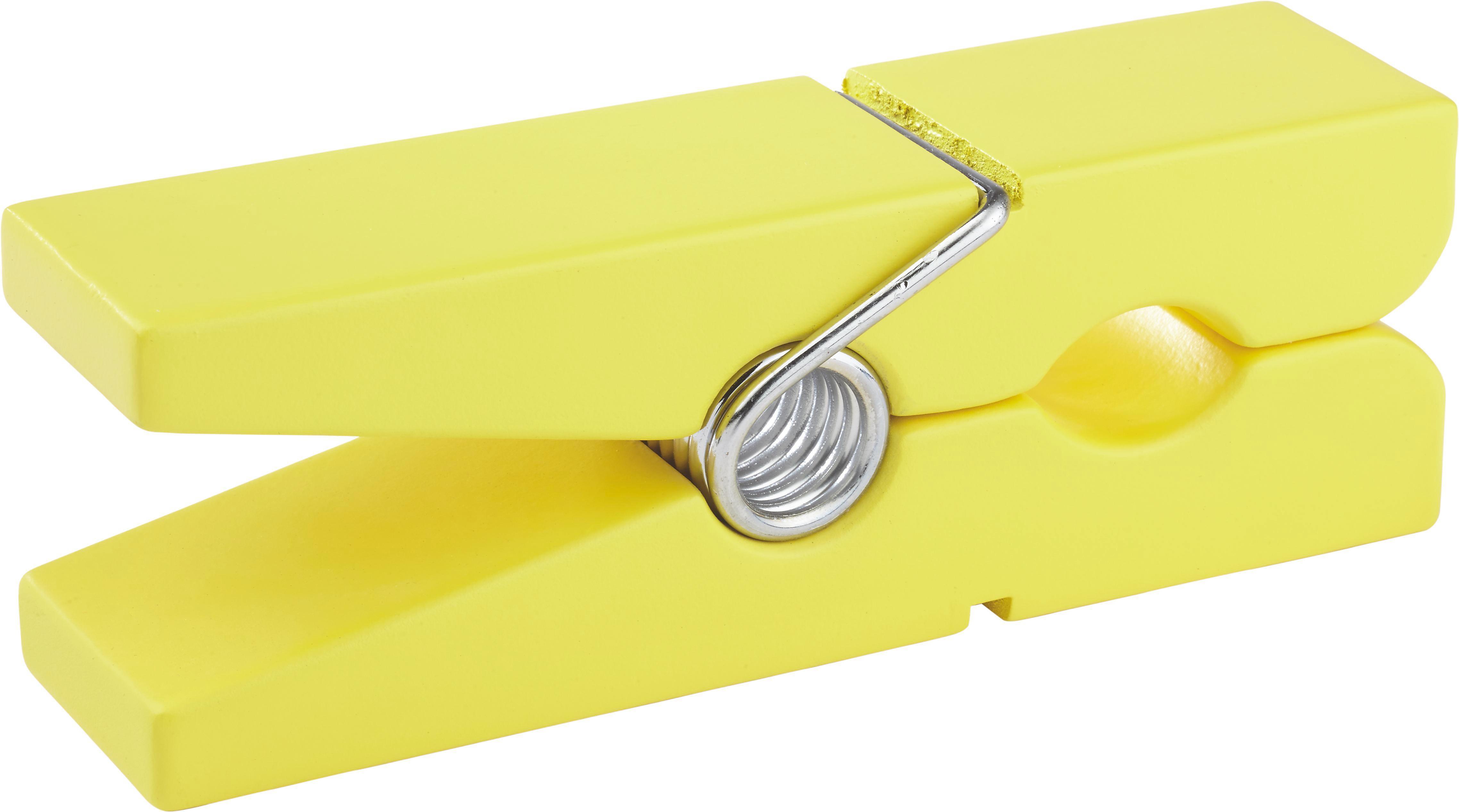 Wandhalter Gams in Gelb aus Holz - Gelb, Holz (20/5/7,5cm) - MÖMAX modern living
