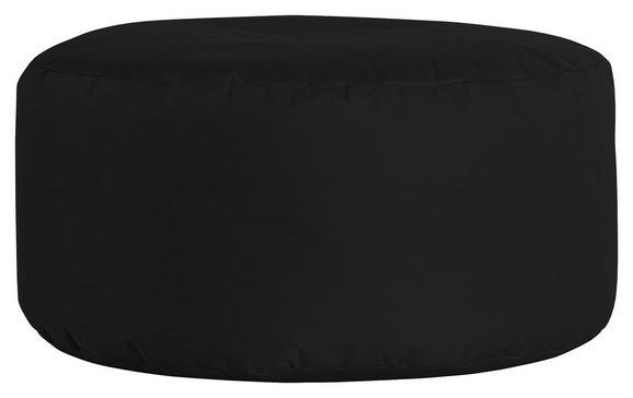Tabure Roller -sb- - črna, Moderno, tekstil (35cm) - Mömax modern living