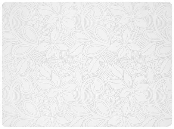 Étkezési Alátét Rita - Fehér, Műanyag (33/45cm)