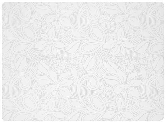 Pogrinjek Rita - bela, umetna masa (33/45cm)