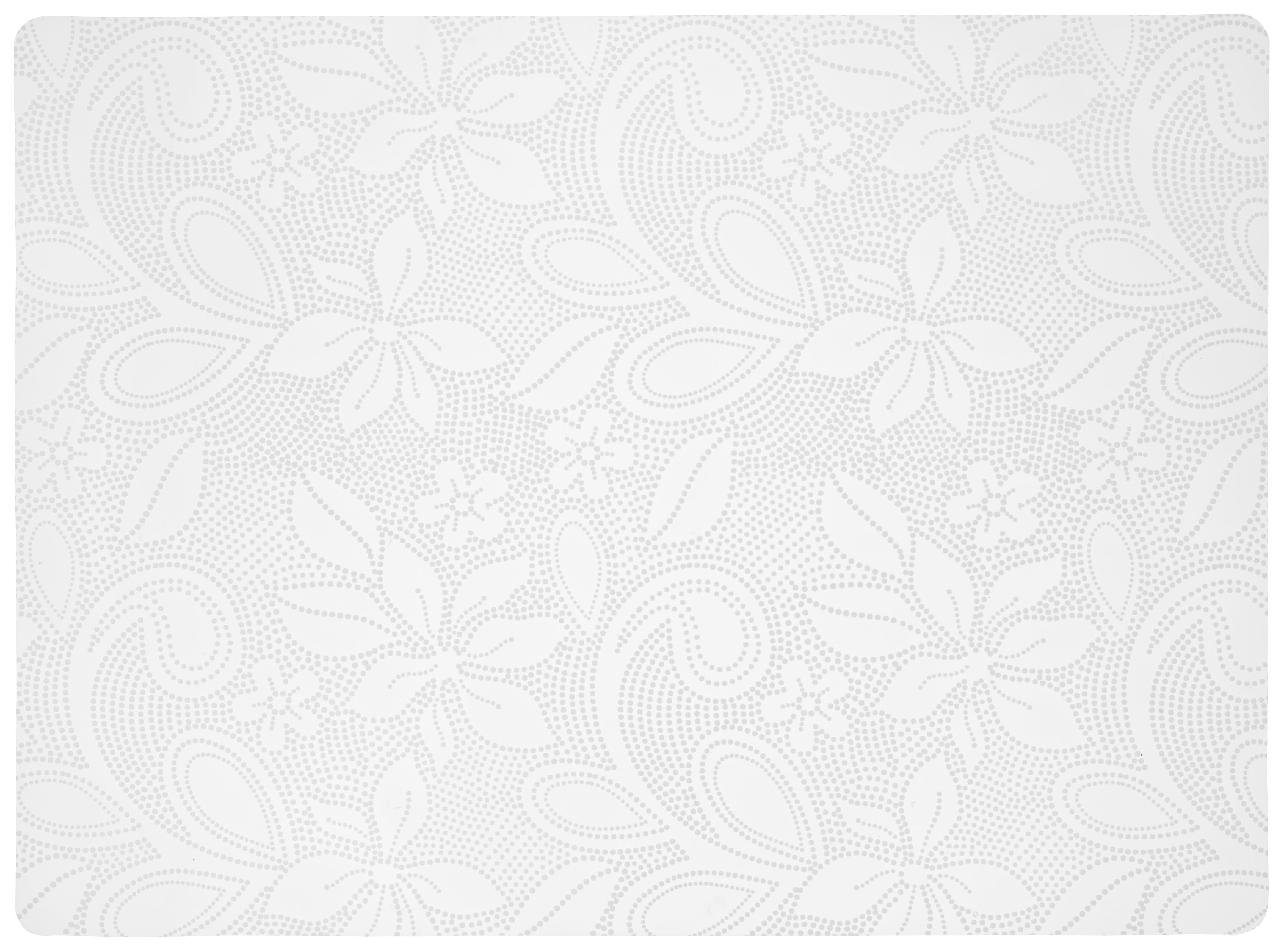 Tischset Rita in Weiß - Weiß, Kunststoff (33/45cm)