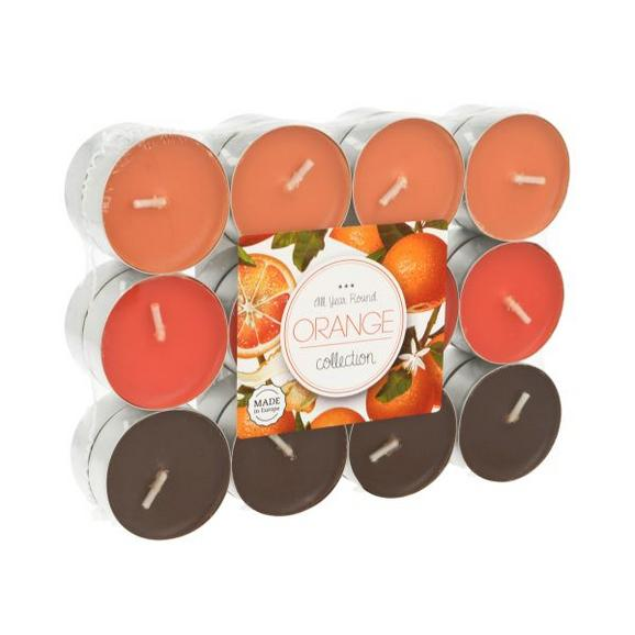 Teelicht Fragranced in mehreren Farben - Alufarben/Braun, Metall (3,9/1,55cm) - Mömax modern living