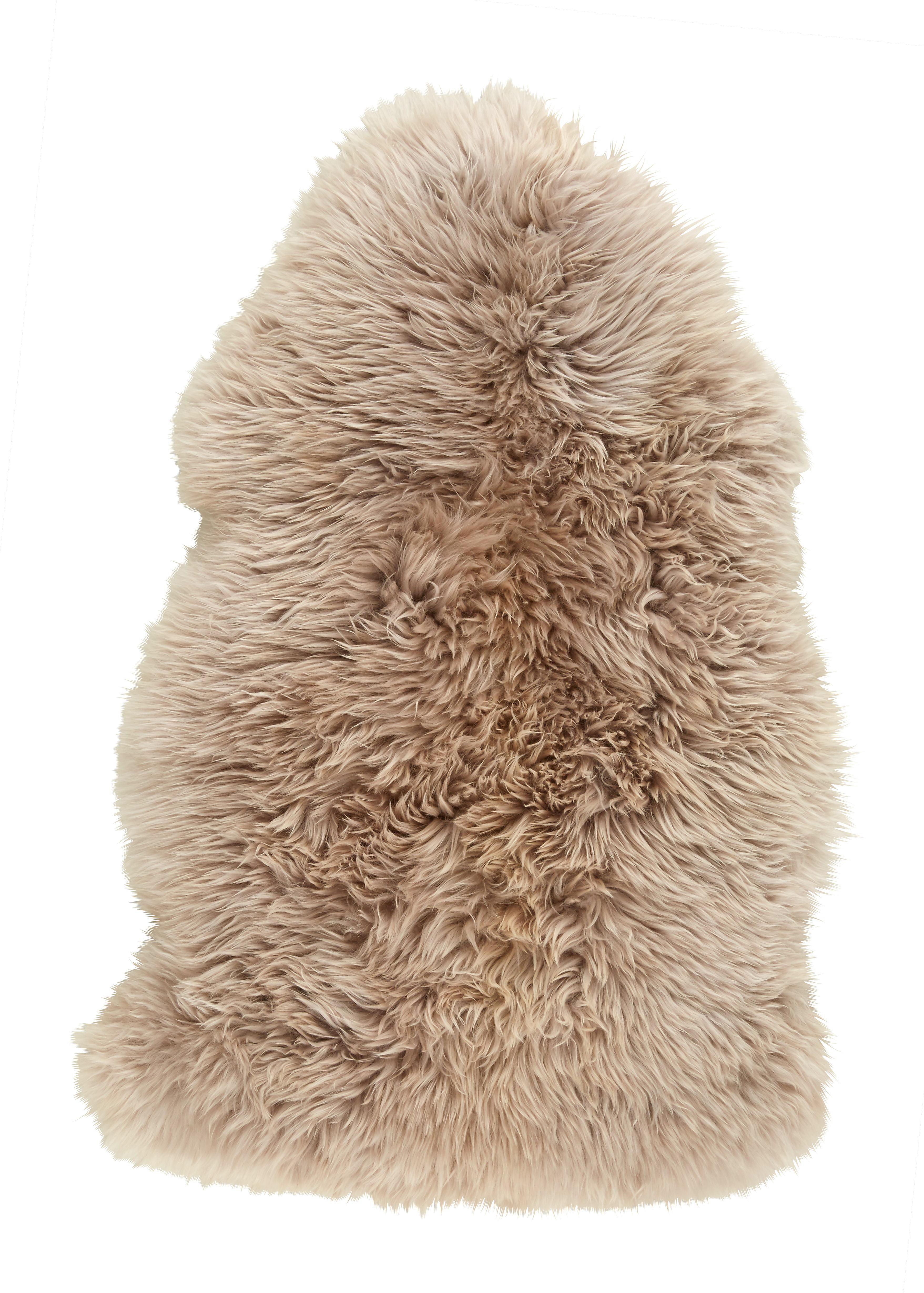 Schaffell Jenny in Beige, ca. 90x60cm - Beige, Textil (90-105/60cm) - MÖMAX modern living