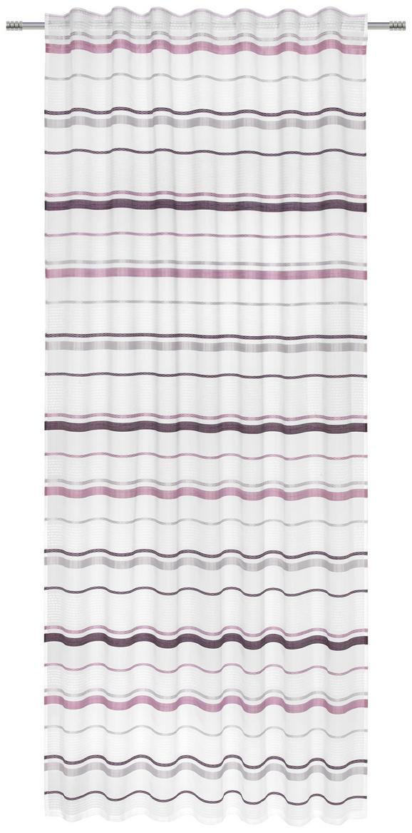 Schlaufenvorhang Adele, ca. 140x245cm - Lila, KONVENTIONELL, Textil (140/245cm) - Mömax modern living