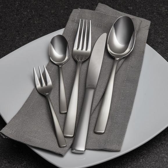 Besteckset Rösle Elegance 30-tlg - Silberfarben, KONVENTIONELL, Metall - Rösle