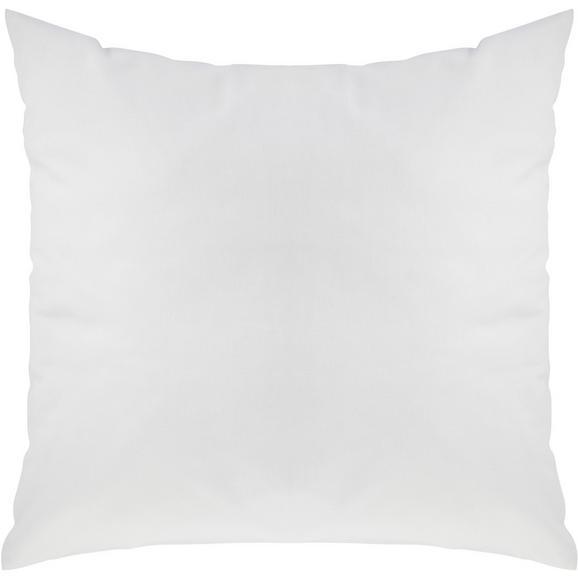 Zierkissen Zippmex Weiß ca. 50x50cm - Weiß, Textil (50/50cm) - Based