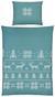 Bettwäsche Konrad Mineralblau 140x200cm - Blau, MODERN, Textil (140/200cm) - Mömax modern living