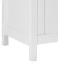 Truhe Leandro mit Stauraum - Weiß, MODERN, Holz (90/50/40cm) - Modern Living