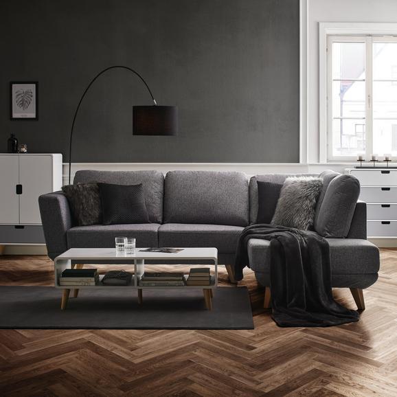 Wohnlandschaft Kyle - Hellgrau, MODERN, Holz/Textil (262/196cm) - Modern Living