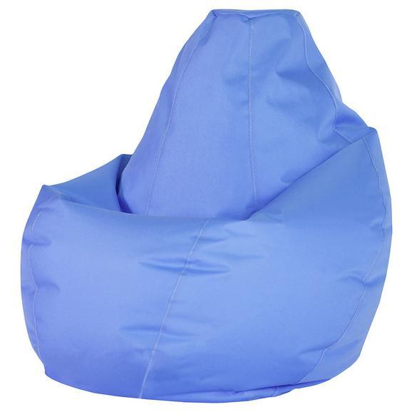 Sac De Şezut Soft L - albastru, Modern, textil (120cm) - Modern Living