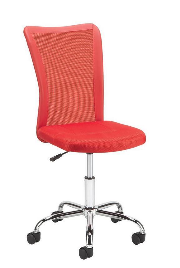 Vrtljivi Stol Surf - rdeča, Moderno, kovina/umetna masa (42/88-98/58,50cm) - MÖMAX modern living