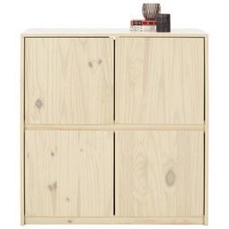 Kommode aus Kiefer massiv - Naturfarben, ROMANTIK / LANDHAUS, Holz (90/95/39cm) - Mömax modern living