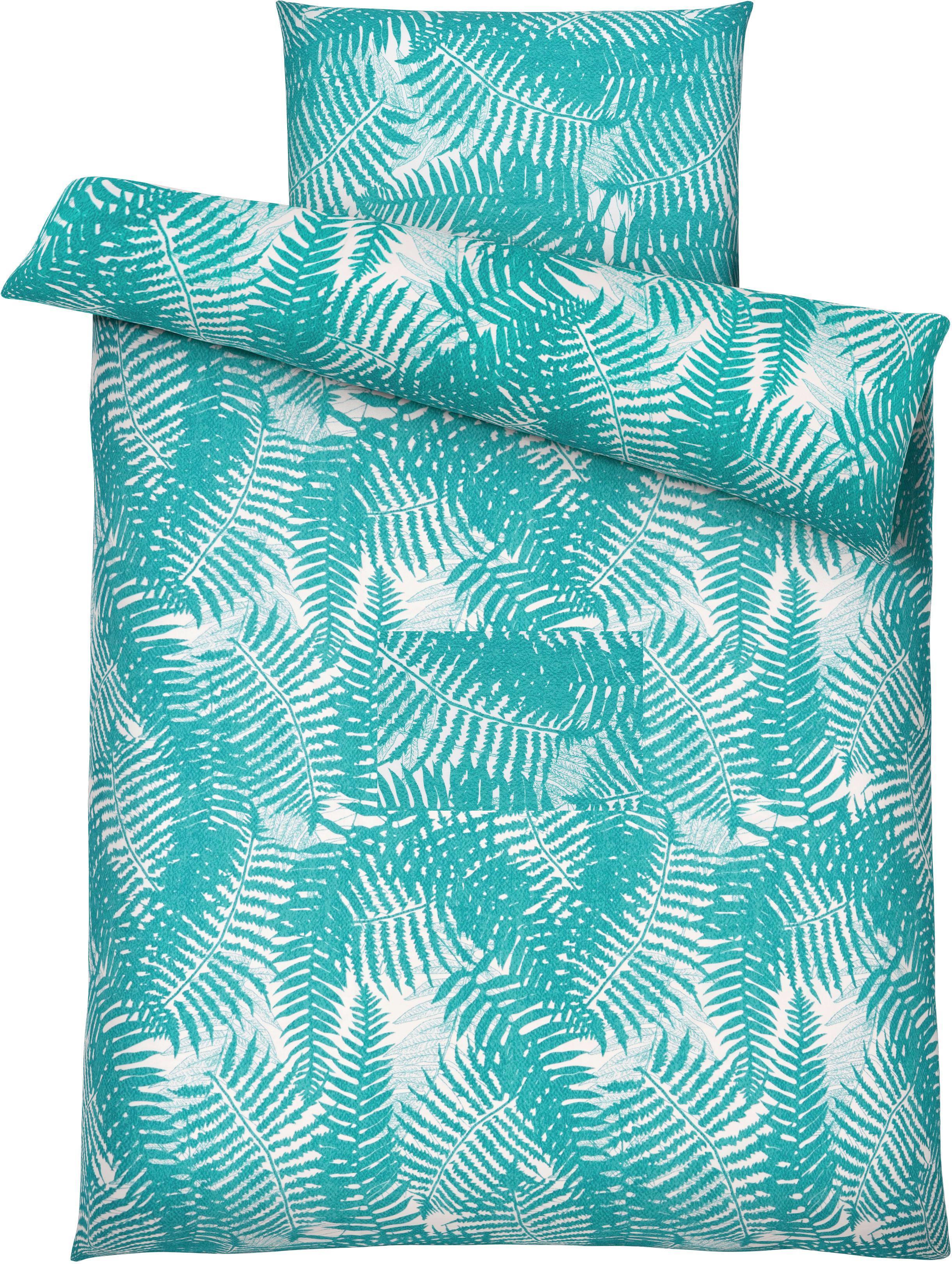 Bettwäsche Bibiana ca. 135x200cm - Türkis, Textil (135/200cm) - MÖMAX modern living