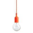 Hängeleuchte max. 60 Watt 'Abby' - Orange, MODERN, Kunststoff (9/92cm) - Bessagi Home